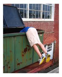 dumpster dive